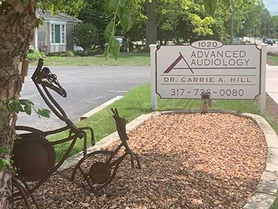Advanced Audiology outdoor sign